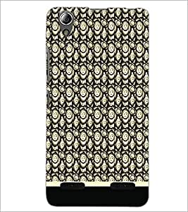 PrintDhaba Pattern D-1826 Back Case Cover for LENOVO A6000 (Multi-Coloured)