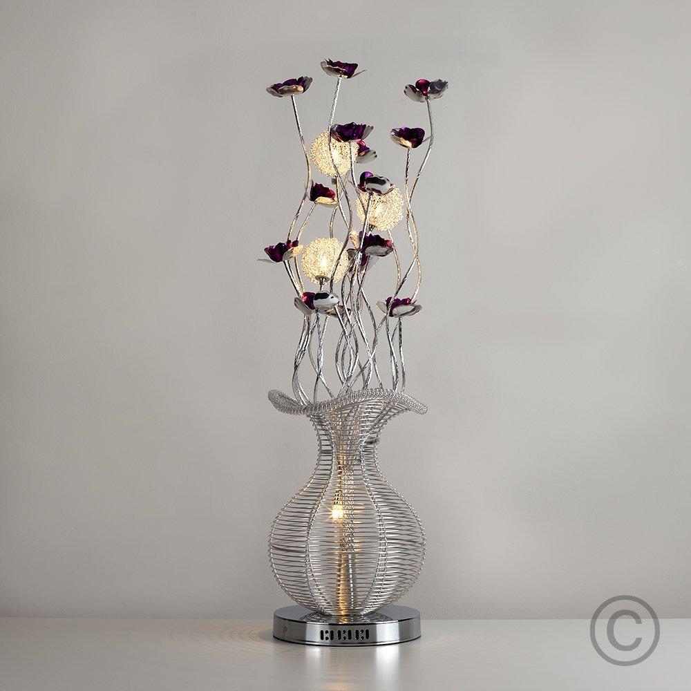 Modern elegant silver black aluminium metal vase flowers design modern elegant silver black aluminium metal vase flowers design floor lamp amazon kitchen home reviewsmspy