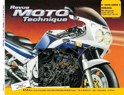 REVUE MOTO TECHNIQUE HORS-SERIE NUMERO 5 : YAMAHA FZR 1000 GENESIS (87/88)