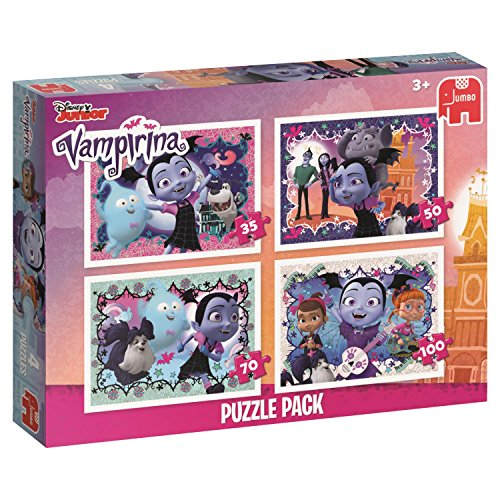 Disney Vampirina 4 - Rompecabezas (Jigsaw Puzzle, Dibujos, Preescolar, Chica, 3 año(s), Interior)