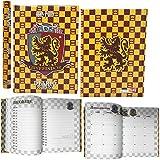 Harry Potter - Agenda scolaire daté 2019-20 - Produit officiel - Dimensions 14 x 20 cm environ Pages en langue italienne Couverture rembourrée
