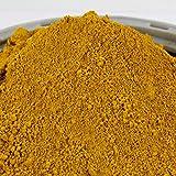 @tec Eisenoxid Pigmentpulver für Beton, Oxidfarbe - 1kg Farbpigmente Trockenfarbe für Zemenz, Gips, Putz - Farbe: gelb