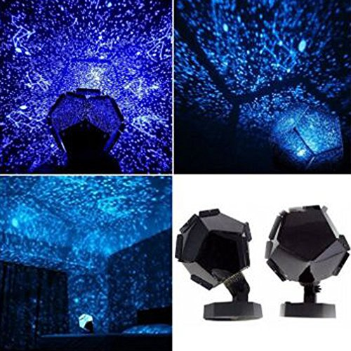 DIKHBJWQ Himmelsstern Kosmos Nachtlampe Nachtlicht Projektionsprojektor Sternenhimmel (Lichterkette/Light/Tischlampe/Nachttischlampe/Nachtlicht) (Wohnung Boxsack)