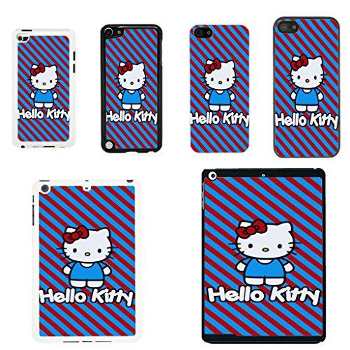Hello Kitty Schutzhülle für Apple-T45, HK - Bobtail Cat - Black, iPod Touch 4G