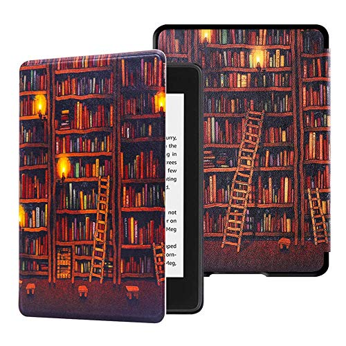 Huasiru Pintura Caso Funda para Kindle Paperwhite