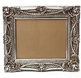 Starline Barock Bilderrahmen Silber 60x70/ 40x50 cm (Antik/Vintage) in Handarbeit hergestellt für Künstler, Maler. Idealer Gemälde-Rahmen für Ausstellungen Star-LINE®