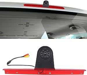 Wasserdicht Einparkkamera Einparkhilfe Farbkamera Bremsleuchte Kamera Bremslicht Rückfahrkamera Für Vw T5 Bus Transporter Multivan Caravelle 2003
