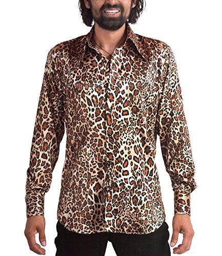 eoparden Muster Hemd, Mehrfarbig, 3XL ()