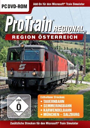 Preisvergleich Produktbild Train Simulator - ProTrain Regional: Österreich (Add-On)