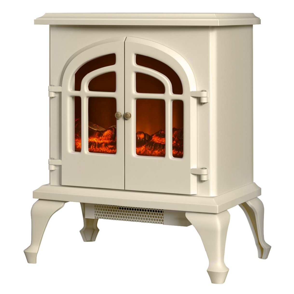 warmlite wl46015c log effect stove fire 2000 w cream amazon co