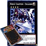 Best Excalibur Jeux de cartes - YuGiOh CT09–EN002: limitée Ed Heroic- Champion Excalibur Secret Review