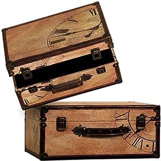 Carrick Motif Time Traveller valises, Multicolore, 43x 19x 33cm, Lot de 2