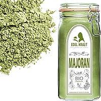 EDEL KRAUT | BIO MAJORAN GEMAHLEN im Premium GLAS - Marjoram Powder Organic 350g
