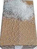 30x 30mm Mesh Polypropylen Netz 1mm, weiß , 4,2m x 2m