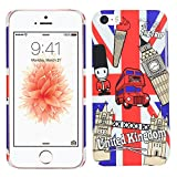 Heartly Flag Printed Design High Quality Hybrid Tough Armor Hard Bumper Back Case Cover For Apple iPhone 5C - United Kingdom Amazon
