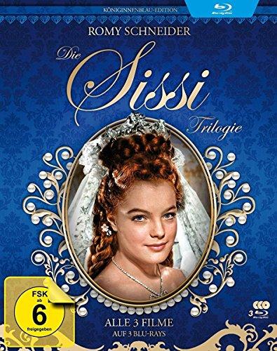 Bild von Sissi Trilogie - Königinnenblau-Edition - Filmjuwelen [3 Blu-rays]