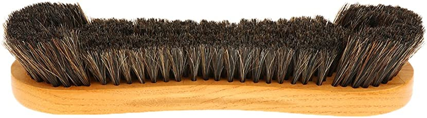 NF&E Handle Wooden Pool Snooker Clean Artificial Horse Hair Bristle Billiard Table Brush Accessories
