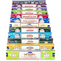 Indian Arts Satya Nag Champa Om Shanti Räucherset C1 12x15gram beinhaltet: Nag Champa, Superhit, Om Shanti, Prana... preisvergleich bei billige-tabletten.eu