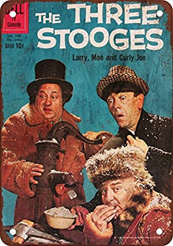 Three Stooges Vintage Look Reproduction Metal Sign