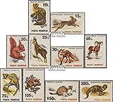 Rumänien 4901X-4910X (kompl.Ausg.) 1993 Freimarken: Tiere (Briefmarken für Sammler)