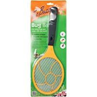 The Buzz Bug Bat, Kills Insects (Mosquitos and Midges) on Contact, Suitable for Indoor and Outdoor Use, Use at BBQs, Camping and Picnics