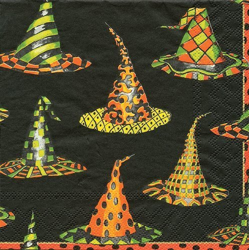 Halloween Party Supplies Paper Napkins Halloween Decorations Party Ideas Napkins Witch Hat 40 Pc by Caspari