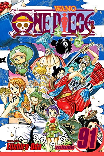 One Piece, Vol. 91: Adventure in the Land of Samurai (English Edition) (Chopper Comic)
