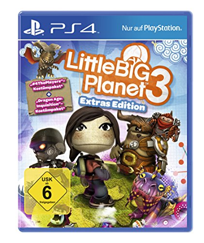 Little Big Planet 3 Extras Edition (exkl. bei Amazon.de) - [PlayStation 4]
