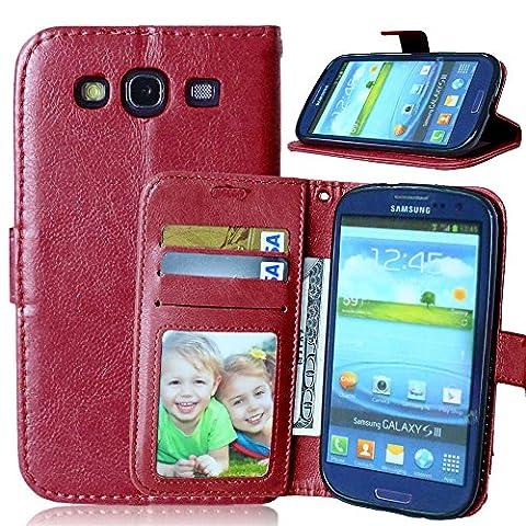 Nancen Samsung Galaxy S3 / I9300 (4,8 Zoll) Lederhülle Neu