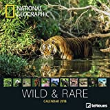 2018 National Geographic Wild & Rare Calendar - teNeues Grid Calendar - Photography Calendar - 30 x 30 cm