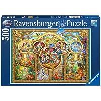 Ravensburger - 14183 - Puzzle Classique - Famille Disney - 500 Pièces