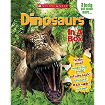 Dinosaurs in a Box by Gina Shaw (2014-08-26)