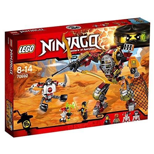 LEGO Ninjago 70592 - Schatzgräber M.E.C., Spielzeug für Jungen und ()