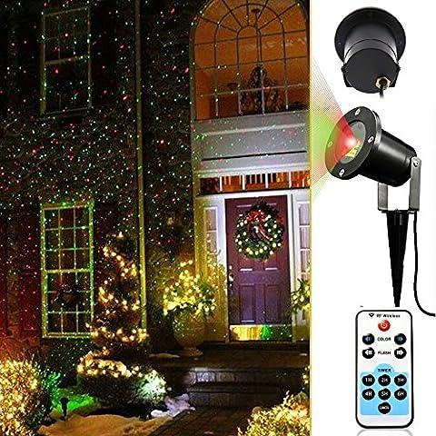 Mobile e Fisse LED di Paesaggio Proiettore di Illuminazione Luci All'aperto Natale Impermeabile Lampada