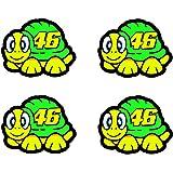 Valentino Rossi adhesivo tortuga 2012 vinilo 2.5cm x4