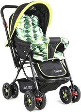 Luvlap Sunshine Baby Stroller (Green Checks)
