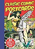 Classic Comic Postcards: 20 Cards to Colour & Send by Michael O'Mara Books (2016-10-01)