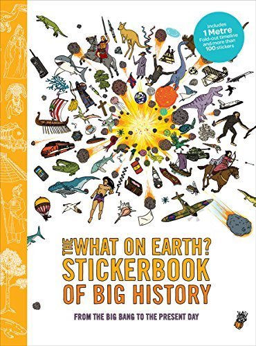 The What on Earth? Stickerbook of Big History by Christopher Lloyd (2014-06-24)