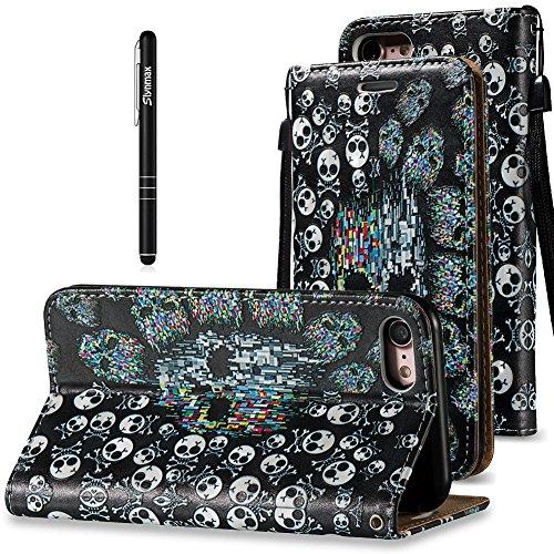 slynmax-leder-tasche-schutzhulle-fur-apple-iphone-7-hulle-flip-wallet-case-etui-pu-leather-3d-phanto