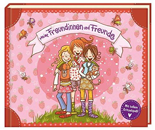 Meine Freundinnen und Freunde (Mit tollem Kritzelspaß!) (Eintragbücher)