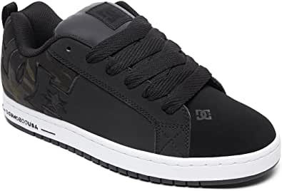 DC Shoes Legacy 98 Slim SE ADYS100447 - Scarpe da uomo, Nero (Nero mimetico), 55 EU
