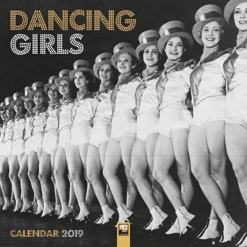 Dancing Girls - Tänzerinnen 2019: Original Flame Tree Publishing-Kalender [Kalender] (Wall Calendar)