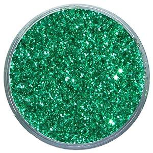 Snazaroo - Pintura facial y corporal con polvo de purpurina, 12 ml, color verde brillante