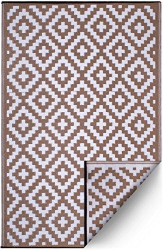 FH Home Alfombra/Alfombra plástico Reciclado Interiores/Exteriores