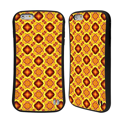Ufficiale WondrousCre8tions Margherita Porpora Collezione Floreale Geometrica Case Ibrida per Apple iPhone 7 Plus / 8 Plus Geranio Floreale