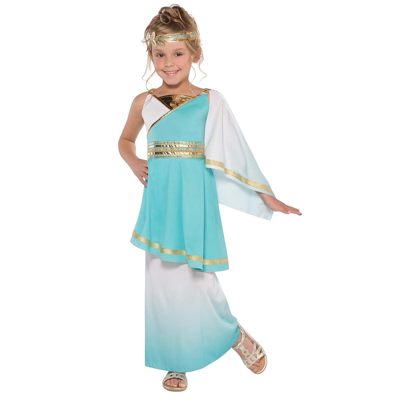 venus roman goddess girls fancy dress grecian toga greek childrens