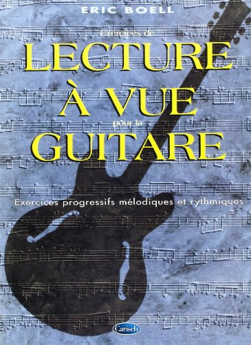 Boell Eric Lecture A Vue Guitare Guitar Tab Book French