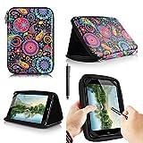 casezilla A2017,8cm Mid Apad ePad Netbook Tablet Universal EVA Hartschale Folio Tablet Fall, Quallen, ALDI MEDION LIFE TAB E7318