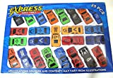 #3: 25 piece Car set for Kids collection Small Sports Cars