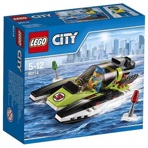 LEGO City Great Vehicles 60114 - Motoscafo da Competizione